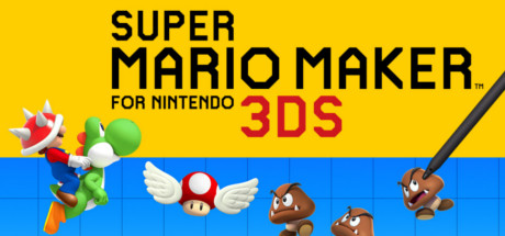 Super Mario Maker for Nintendo 3DS Banner