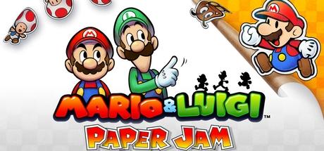 Mario & Luigi: Paper Jam Banner