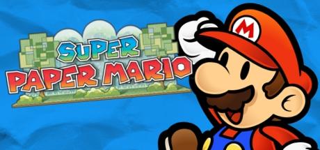 Super Paper Mario Banner