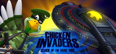 Chicken Invaders 5: Cluck of the Dark Side Banner