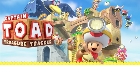 Captain Toad: Treasure Tracker (Wii U) Banner