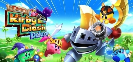 Team Kirby Clash Deluxe Banner