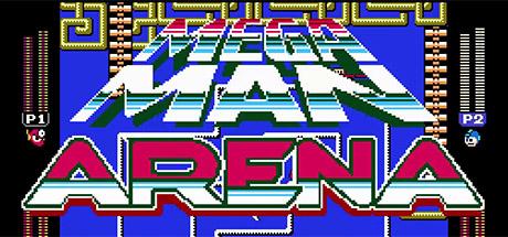 Mega Man Arena Banner