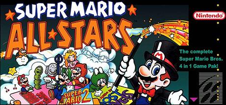 Super Mario All-Stars Banner
