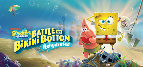 SpongeBob: Battle for Bikini Bottom - Rehydrated Banner